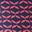 Motif géométrique rose corail