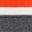 Charcoal Melange Stripe