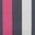 Charcoal Marl Multi Stripe