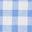 Vichy bleu élisabéthain