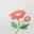 Naturweiß, Blumen/Haustiere
