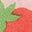 Delfinrosa, Erdbeere