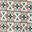 Ivoire, motif géométrique mosaïque