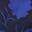 Navy/Persischblau, Knospen mit Blättern