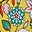 Daffodil, Kaleidoscopic Floral