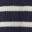 Navy/Ivory Stripe