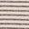 Oatmeal Marl, Gunmetal Stripe
