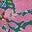 Green, Kaleidoscopic Floral