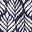 Bleu marine foncé, tuile palmier
