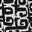 Schwarz, Marokkanisches Kachelmuster