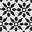 Ivory, Starflower Tile Border