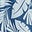 Bleu avion, palmier