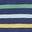 Bunt, Pastell-Marinestreifen