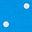 Moroccan Blue, Polka Dot