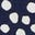Navy, Painted Dot