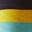 Navy Rainbow Cuff