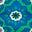 Baumgrün, Mosaikmuster