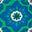 Vert printemps, motif Mosaic Stamp