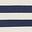 French Navy/Ivory Stripe