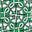 Vert printemps, motif Compass Knot