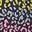 Französisch Blau, Regenbogen-Leopardenmuster