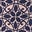 Navy, Ornate Lattice