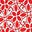 Rouge cerise, motif Ornate Lattice