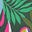 Palmblattgrün, Tropische Blüten
