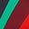 Chartreuse, rayé motif Mustique Wave