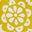 Chartreuse, motif Garden Tropic