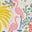Ivoire, motif Tropical Charm