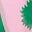 Hellrosa, Knospen mit Blättern
