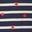 Navy/ Ivory Red Foil Star