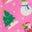 Helles Blütenrosa, Weihnachtliche Freunde