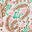 Ivory, Floral Paisley