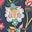 Navy, Opulent Floral