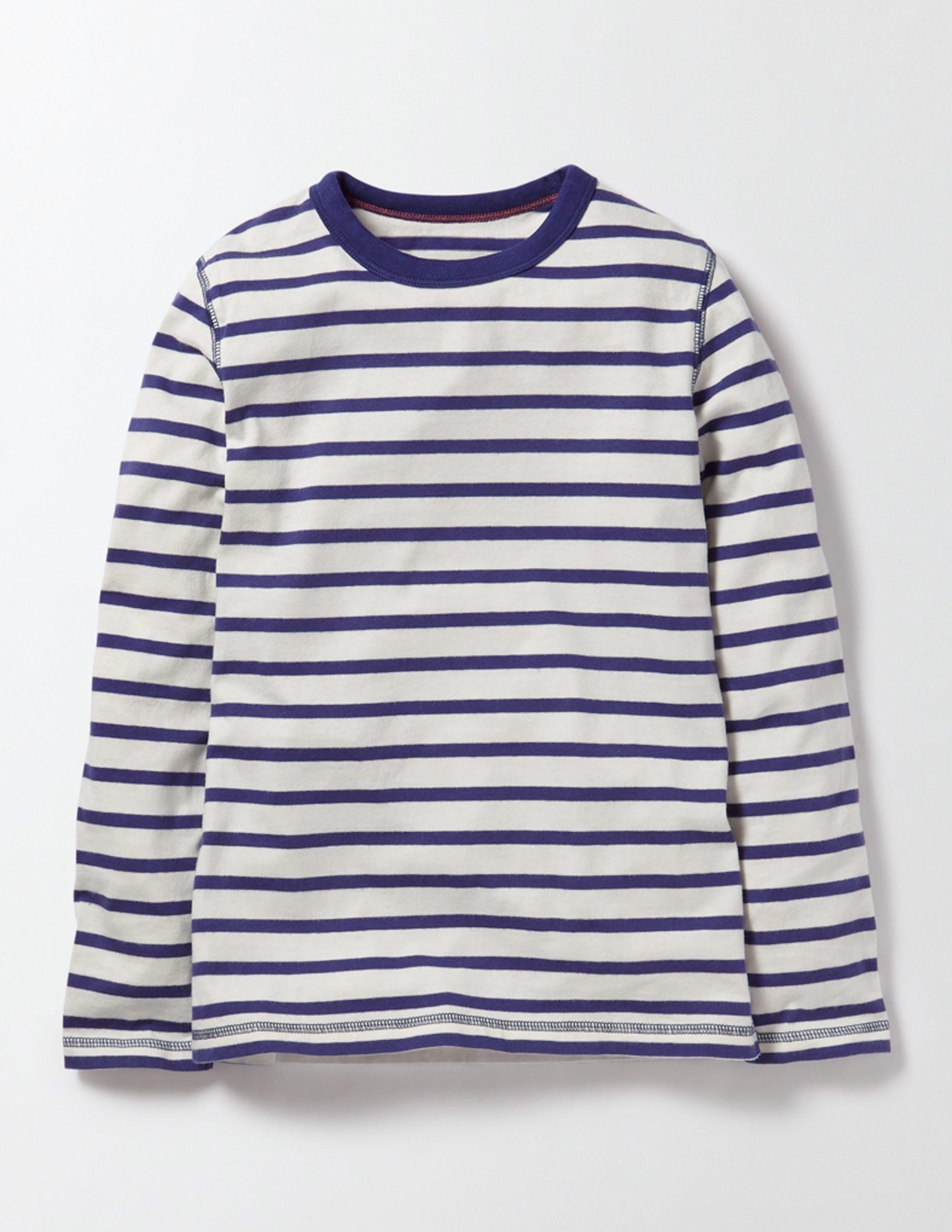 Superweiches T-Shirt Elfenbeinfarben Jungen Boden