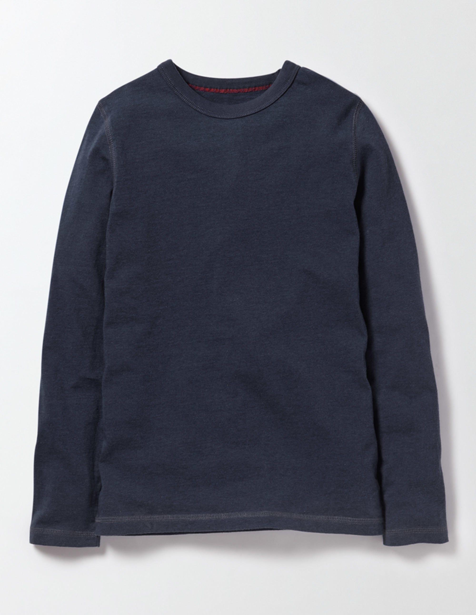 Superweiches T-Shirt Navy Jungen Boden