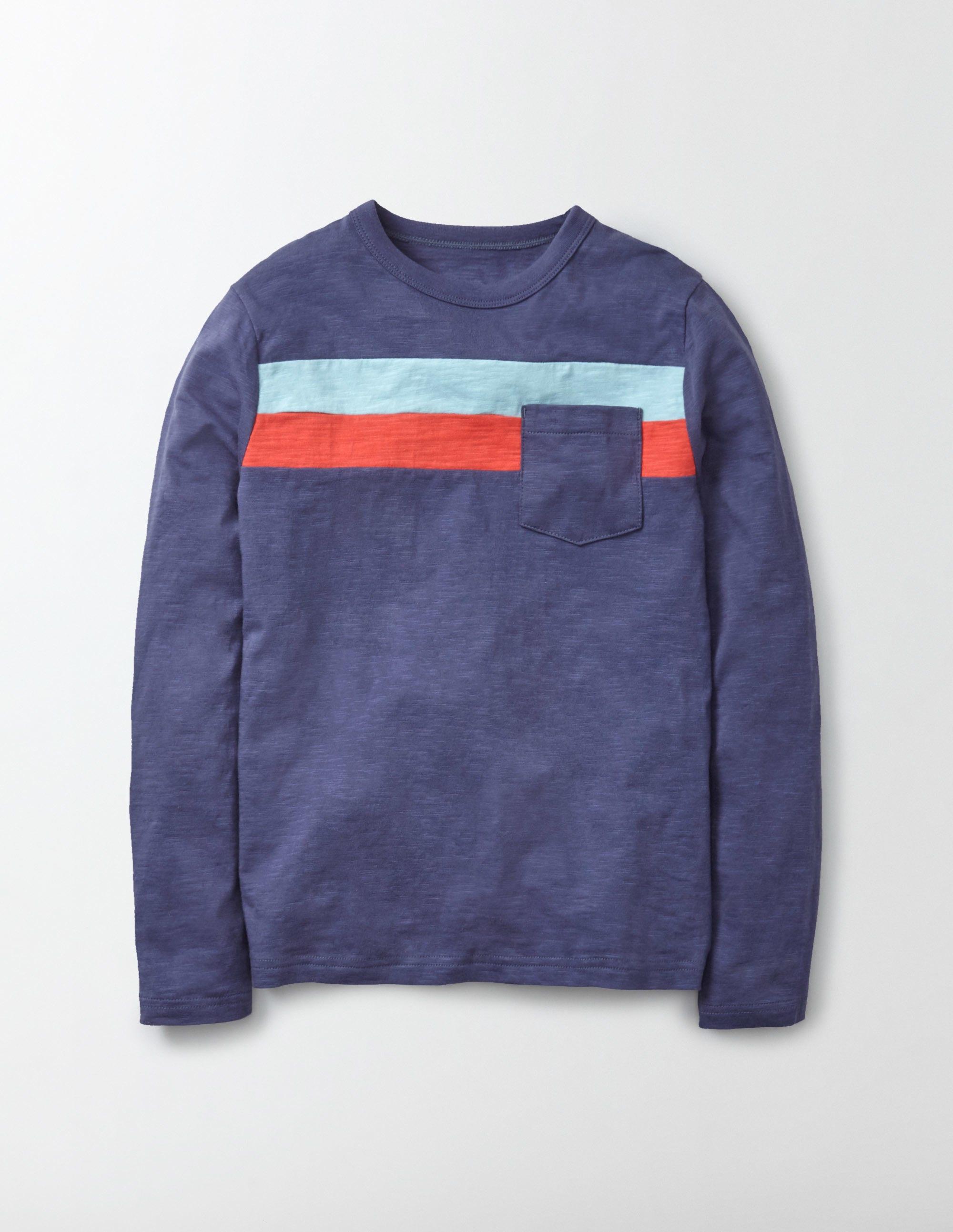Boden t shirt mit surfstreifen navy jungen boden g nstig for Boden direkt shop