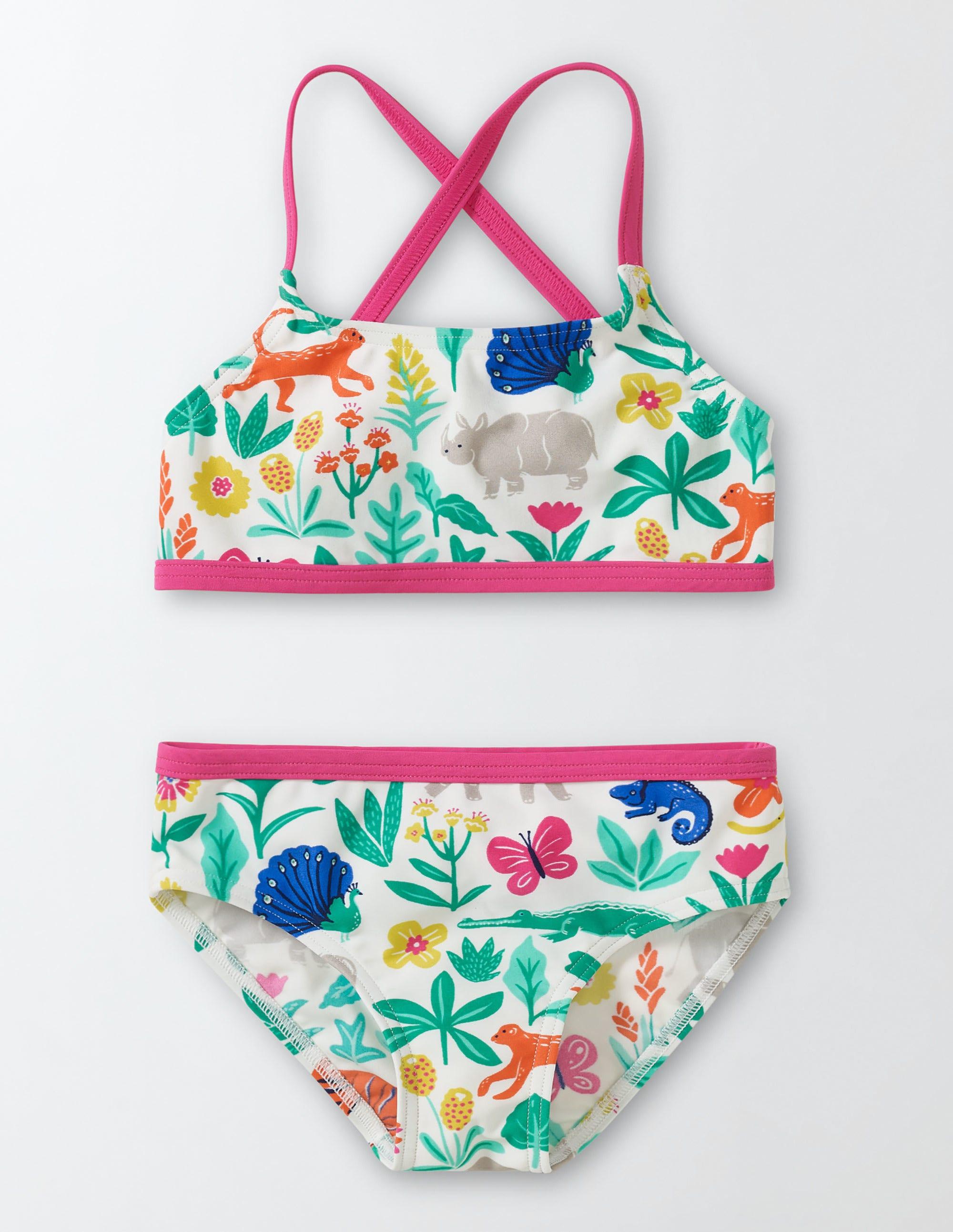 Bikini Poisson-dans-l'eau Multi Tropical Garden Fille Boden