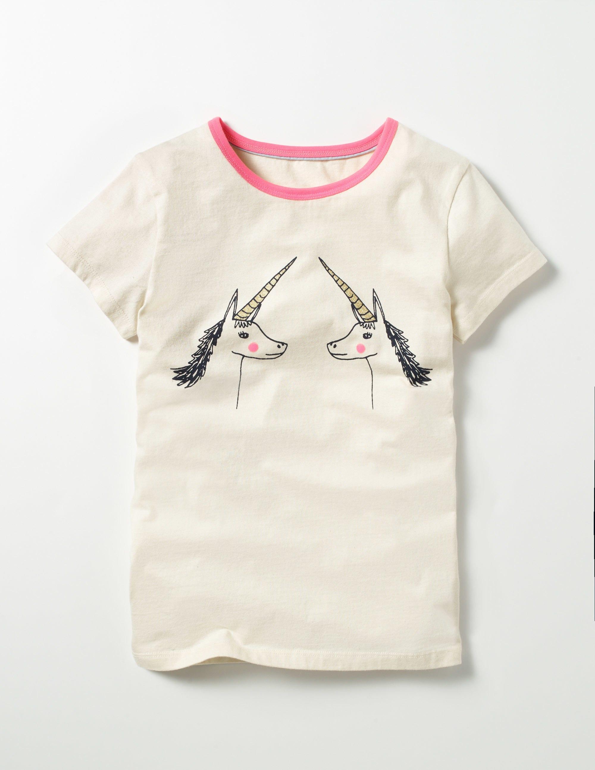 T-shirt graphique Amis Ivory Fille Boden