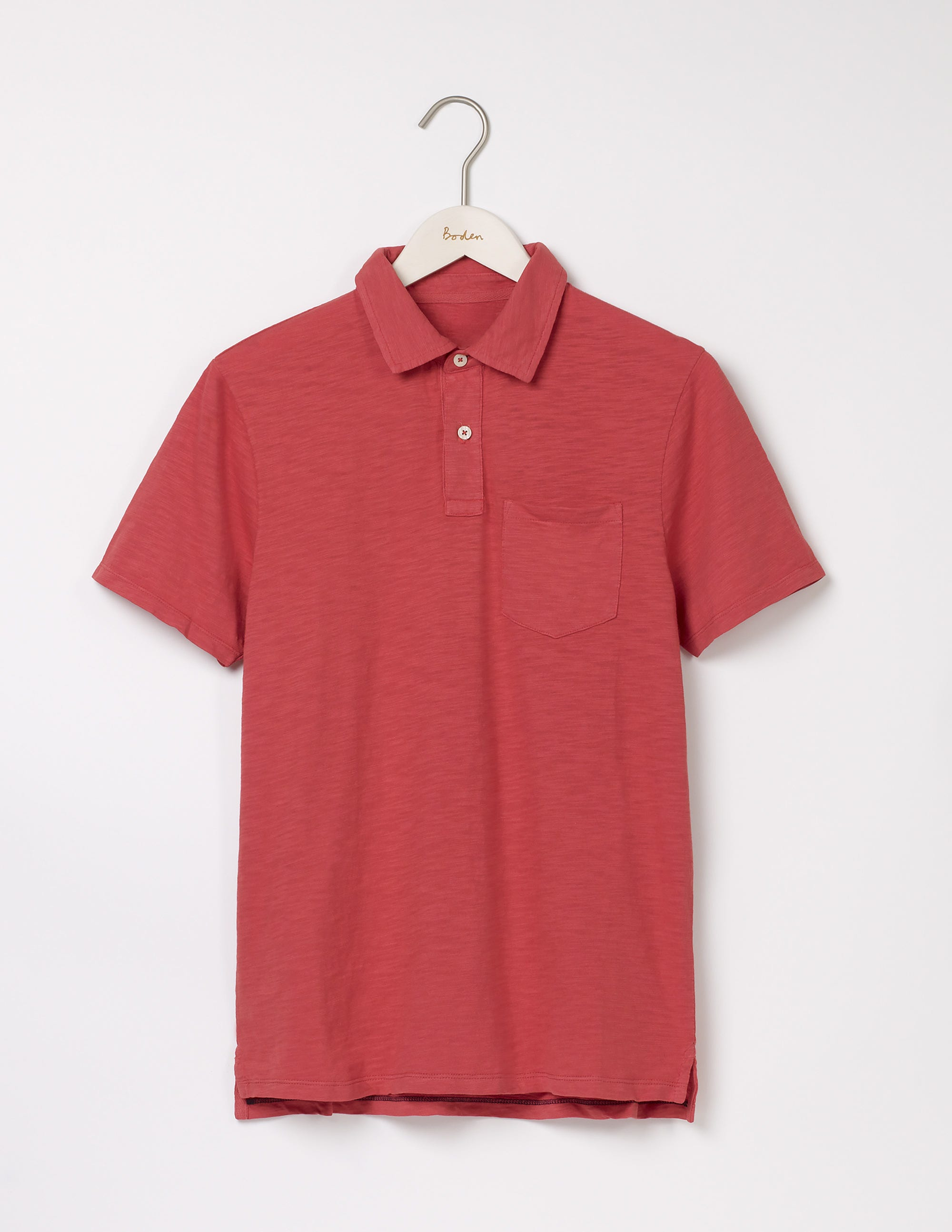 Polo flammé Red Homme Boden