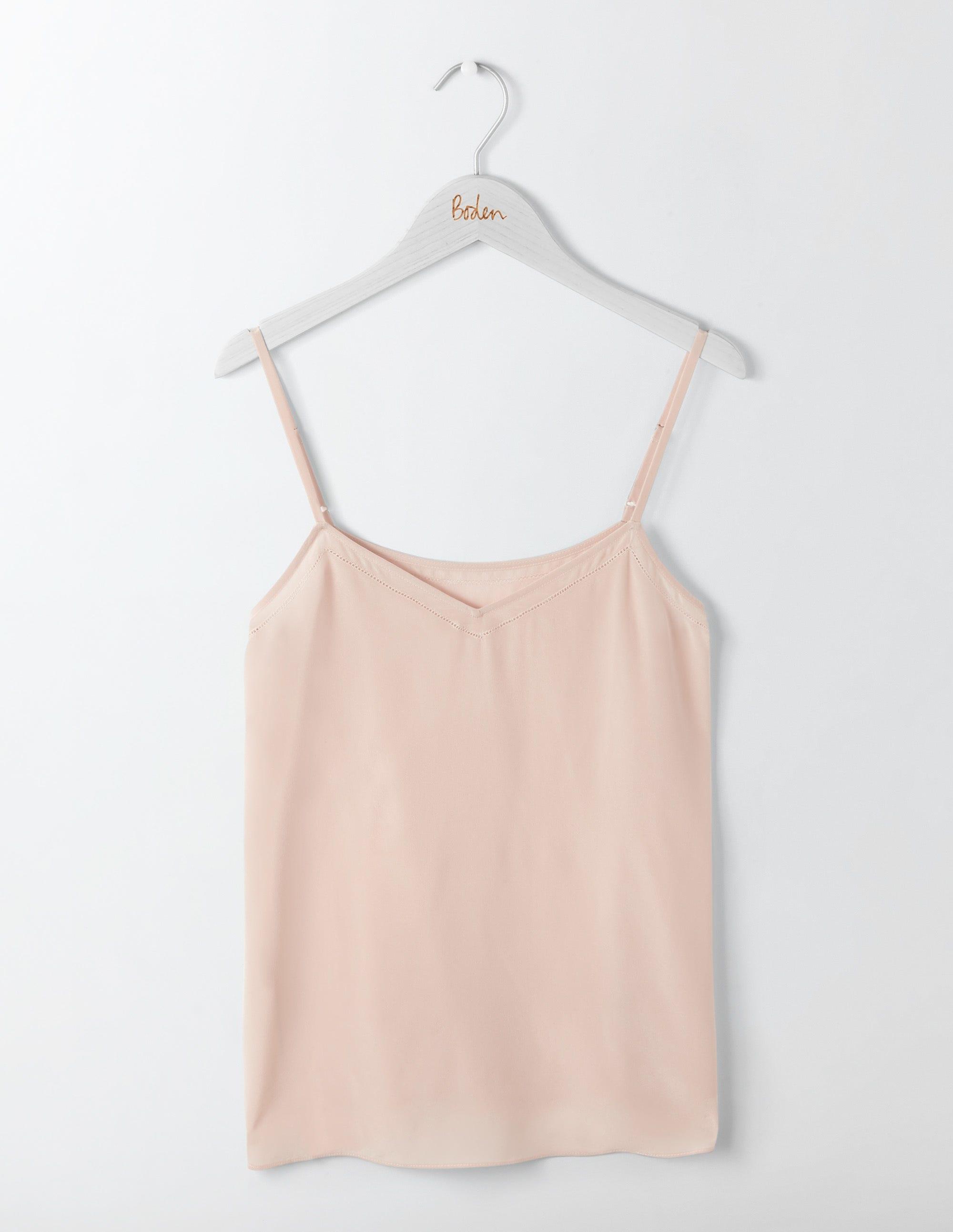 Débardeur en soie Pink Femme Boden