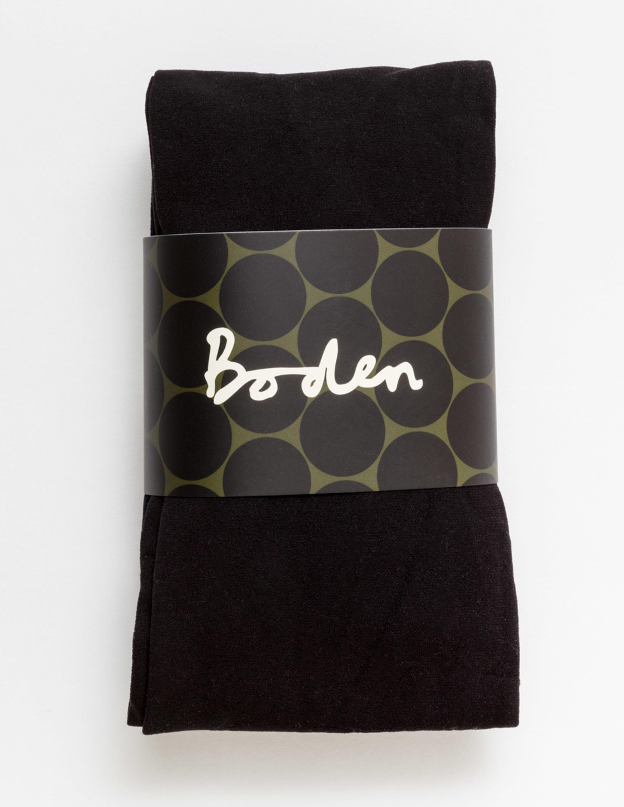 Image de 2 collants 90deniers Black Femme Boden