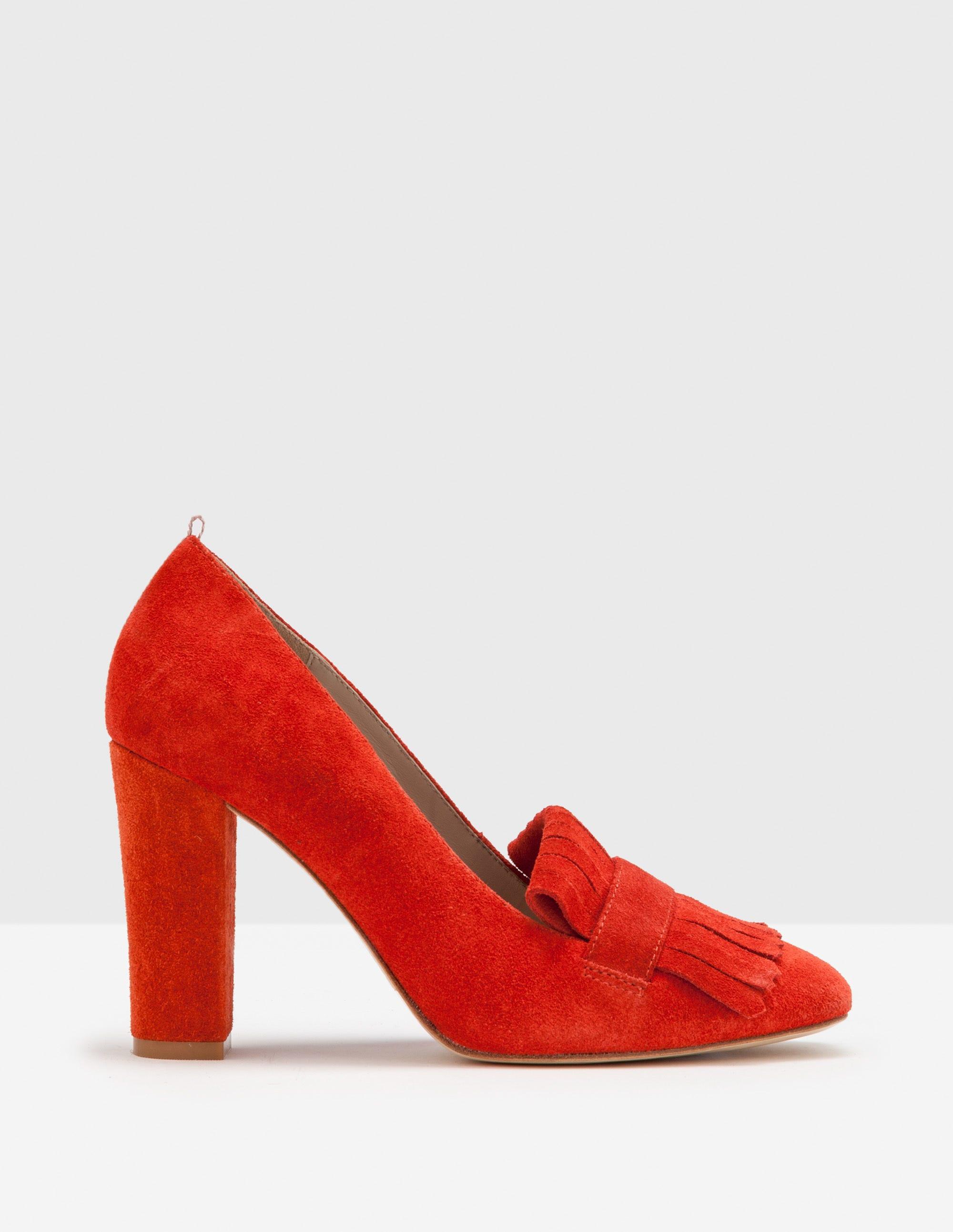 Campbell Pumps mit Fransen Rot Damen Boden