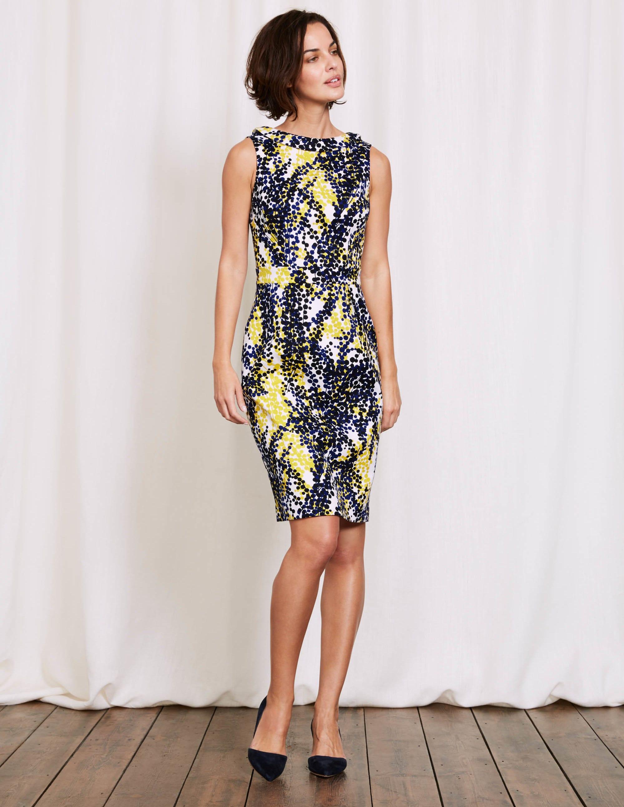 Kleid gelb preisvergleich die besten angebote online kaufen for Boden versand mode