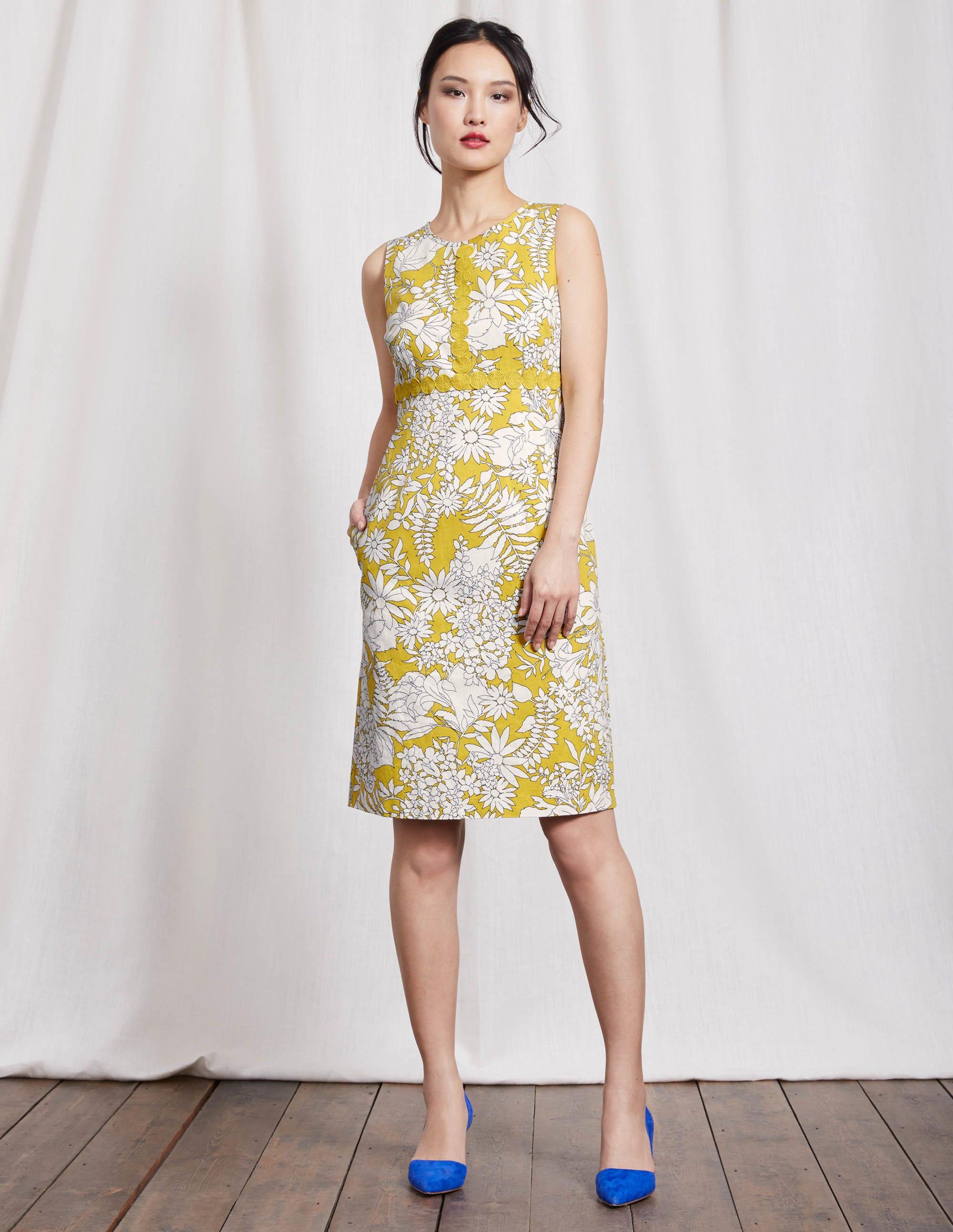 Kleid gelb preisvergleich die besten angebote online kaufen for Boden direkt versand