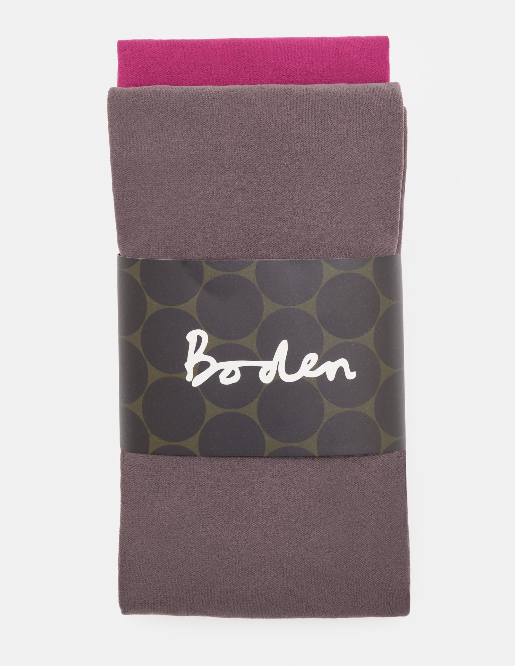 Image de 2 collants 90deniers Grey Femme Boden