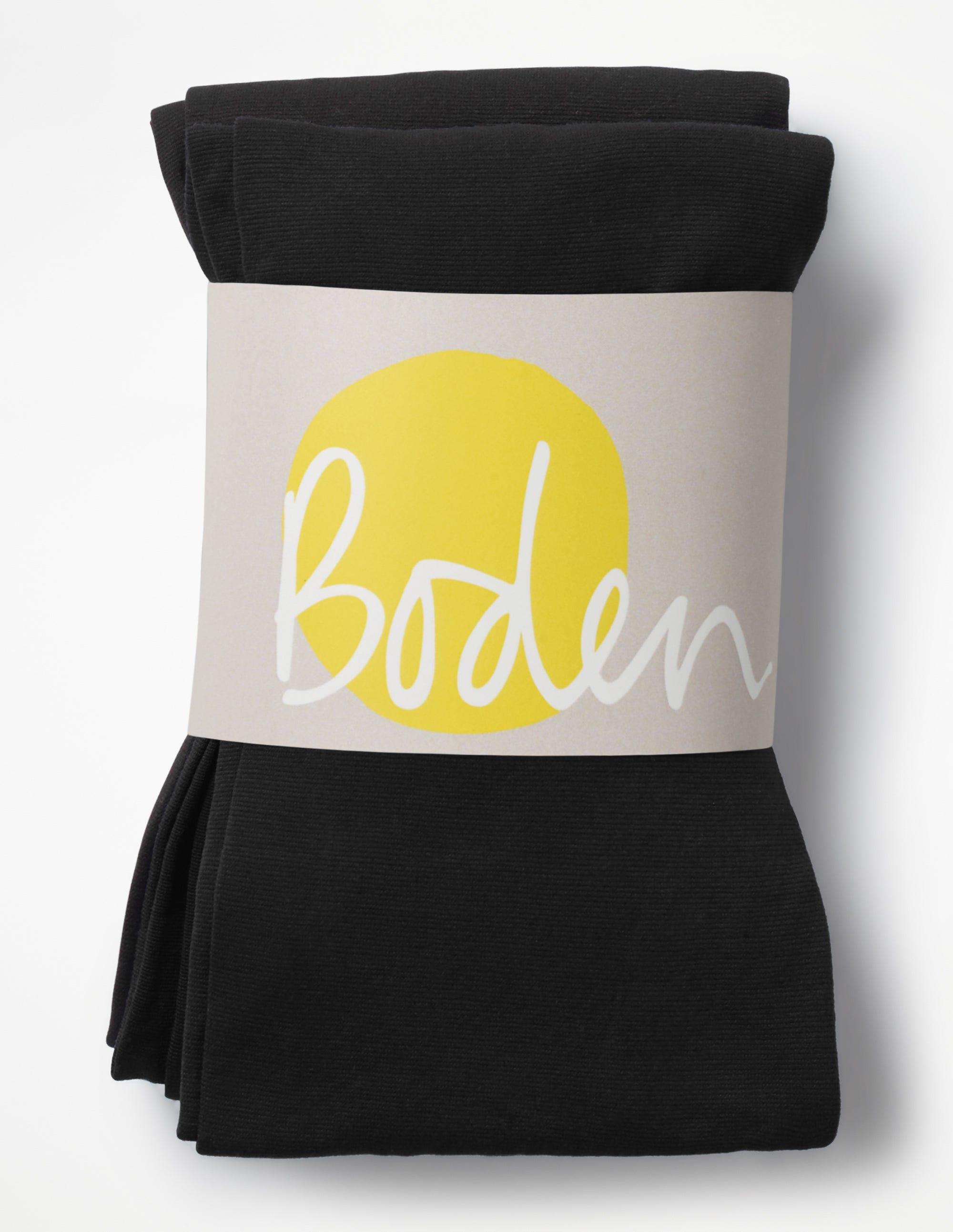 Deux collants 90D Black Femme Boden