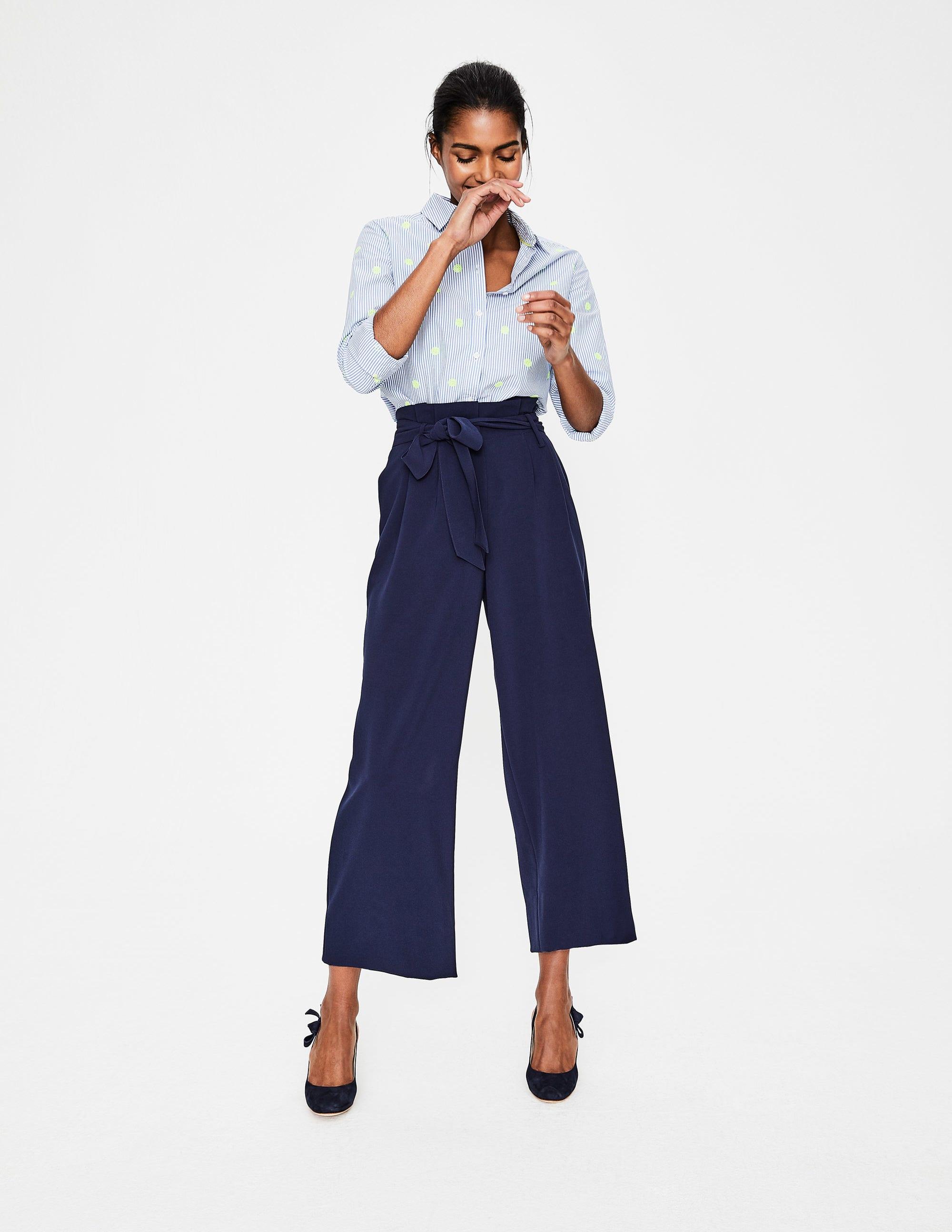 Boden Pantalon large Claremont Femme Boden enRH39